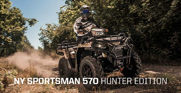 New Sportsman 570 Hunter Edition